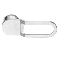 ICE 2 Lever Handle on Rose in Polished