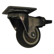 Swivel + Total Brake Castor W