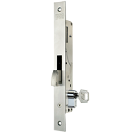 Metallic Lock without Latch - 20mm - Chrome Plated/Stainless Steel Finish