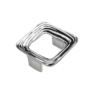 Oasi Cabinet Knob - 64mm - Old Silver F