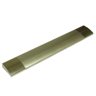 Profile Handle - 140mm -  Aluminium Finish