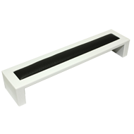 Cabinet Handle - 169mm - White & Black