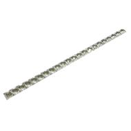 Decorative Profile - Crystal with Bright Silver Finish
