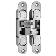 concealed Door Hinge - Nickel