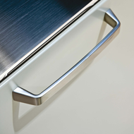 DIAMOND Cabinet Handle - 160mm - Bright Chrome Finish Modern Design