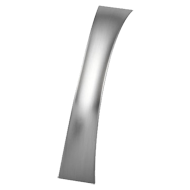 SHIELD Cabinet Handle - 160mm - Bright Chrome Finish Modern Design