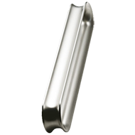 CONCAVE Cabinet Handle - 128mm - Bright Chrome Finish Modern Design