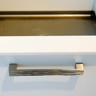STRUCTURE Cabinet Handle - 192mm - Bright Chrome Finish Modern Design