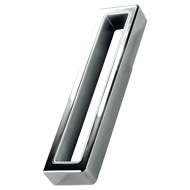 CUBO Modern Cabinet Handle - 160mm - Wh