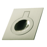 FLUSH Cabinet Handle - 32mm - Inox Look