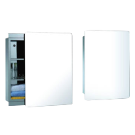 Both Side Sliding Door - 50cm - Polished Chrome Finish