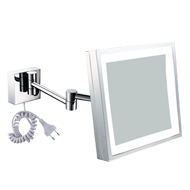 Square Cosmetic Mirror with L