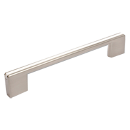 Cabinet Handle + Insert - 168mm - White