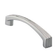 Cabinet Handle - 116mm - Bright Chrome Finish
