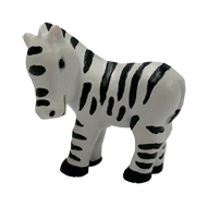 Zebra Multicolour Kids Cabine