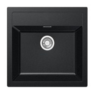 Kitchen Sink - Carbon Black Colour - 560X530mm