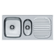 Kitchen Sink - European Satin Finish - 40x20/1004x504mm