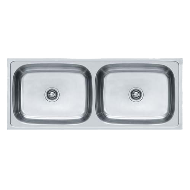Kitchen Sink - European Satin Finish - 48x20 Inch/1204x504mm