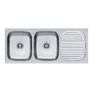 Kitchen Sink - European Satin Finish - 47x20Inch/1179x504mm