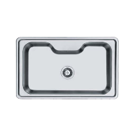 Kitchen Sink - European Satin Finish - 840X510mm