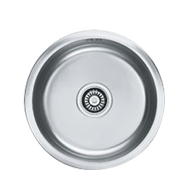 Kitchen Sink - European Satin Finish - 380X190mm - Round