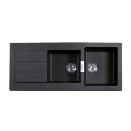 Kitchen Sink - Carbon Black Colour - 1190X510mm