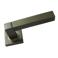 Antea Square Lever Handle  - Stainless
