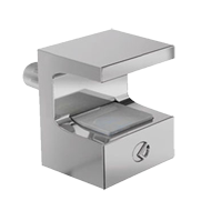 Glass Shelf Support - Chrome