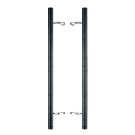 Door Pull Handle -1000mm - Bright Chrom