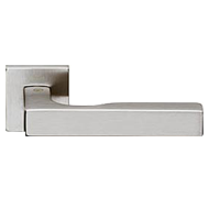 Door Lever Handle - Satin Chrome Finish
