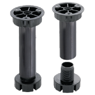 ABS Legs (Plastic) Adjustable Foot - Height - 100mm