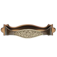 Cabinet Handle in Antique Brass Finish