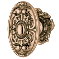 Main Door Knob - Antique Brass Finish