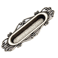 Cabinet Handle & Pull-  134mm - Old Silver Finish
