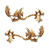 Cabinet Handle & Pull Right/Left - Antique Bronze Finish
