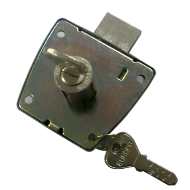 Furniture Lock Panel - 25mm - Stainless