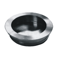 Cabinet Shell Flush Knob - 35mm - Stainless Steel