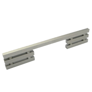 Cabinet Handle Left - 450mm - Stainless