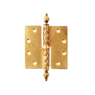 Galatea Door Hinge Right/Left - Old Gold Finish