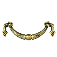 Cabinet Handle & Pull - 96mm - Antique