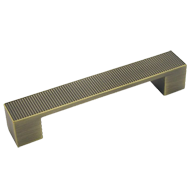 Cabinet Handle - 128mm - Antique Bronze Finish