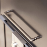 MANGO Cabinet Handle - 160mm - Bright Chrome Finish Modern Design