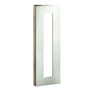 Door Pull Handle - 390mm - Satin Steel Finish