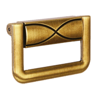 Cabinet Pull - 68mm - Antique Brass Finish