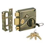 Night Latch ULTRA TRI Bolt 1CK Inside O