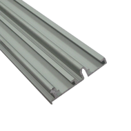 Silver Aluminium Upper Profile - Length