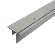 Silver Aluminium Lower Profile - Length