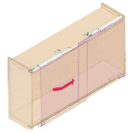 Sliding System For Containers