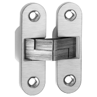 Concealed Door Hinge - 89x25mm - Stainl