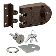ULTRA Vertibolt 1C Door Lock - Texture Brown Colour
